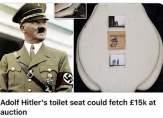 بيع مرحاض هتلر مقابل 19 ألف دولار!