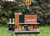 """افتتاح أصغر مطعم """"ماكدونالدز"""" في العالم !!"""