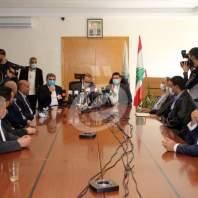 لقاء بين وزيري الزراعة والأشغال واتحاد النقل البري- محمد عمر