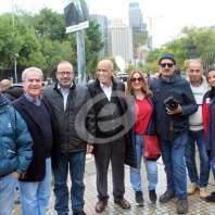 وقفة تضامنية للصحافة امام وزارة الداخلية - محمد عمر