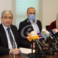 مؤتمر صحافي لوزيري الصحة والتربية حول وباء كورونا - محمد عمر