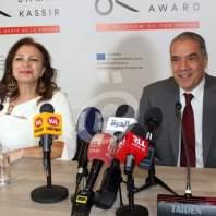 إطلاق جائزة سمير قصير لحرية الصحافة 15 - محمد عمر