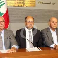 مؤتمر للاعلان عن عقد مؤتمر النهوض بالزراعة في لبنان - محمد عمر