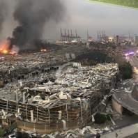 بالصور: إنفجار مدمر يهز بيروت والأضرار كبيرة