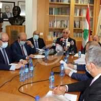 إجتماع لنقباء المهن الحرة بشأن الوضعين الاقتصادي والمالي - نقابة محرري الصحافة - محمد عمر