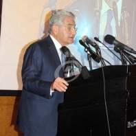 مؤتمر لرئيس مجلس إدارة بنك بيروت سليم صفير - محمد عمر