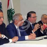 "مؤتمر صحافي لإطلاق معرض ""سمارتكس"" - محمد عمر"