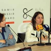 مؤتمر صحافي لإطلاق جائزة سمير قصير لحرية الصحافة - محمد عمر