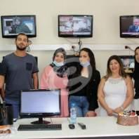 """اسرة """"الإقتصاد"""" تحتفل بميلاد رئيسة التحرير وتشكر الزميلة سيرين دبوس على جهودها"""