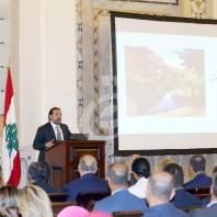 مؤتمر خطة رفع التلوث الصناعي عن نهر الليطاني- السراي الحكومي