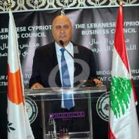 جورج شهوان يكرم السفير القبرصي - محمد عمر