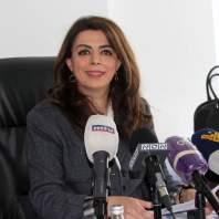 مؤتمر لوزيرة المهجرين حول ملفات في الوزارة - محمد عمر