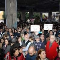 تجمع لاصحاب الشركات الخاصة في وسط بيروت - محمد عمر
