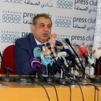 مؤتمر صحافي لجمعية المودعين في نادي الصحافة - محمد عمر