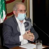 مؤتمر صحافي لجمعية تجار بيروت - محمد عمر