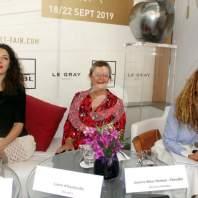 "مؤتمر صحافي للإعلان عن معرض ""Beirut Art Fair"" محمد عمر"