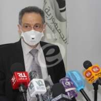 مؤتمر صحافي لوزير الاقتصاد حول دعم المواد الغذائية - محمد عمر