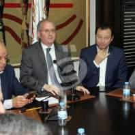 اجتماع المجتمع التجاري اللبناني في جمعية تجار بيروت - محمد عمر