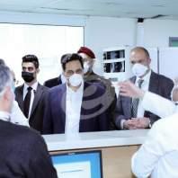 زيارة الرئيس دياب ووزير الصحة لمستشفى بيروت الحكومي