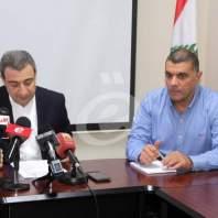 مؤتمر صحافي لوزير الصناعة وائل أبو فاعور - محمد عمر