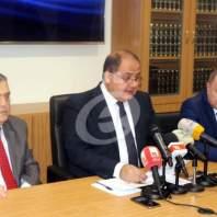مؤتمر صحافي لرئيس المجلس الإقتصادي شارل عربيد - محمد عمر