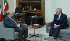 صفير: تمنينا على رئيس الجمهورية مقاربة موضوع السندات بعيدًا عن السياسة وضغوظ الشارع