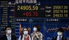 الأسهم اليابانية تغلق عند أعلى مستوى في 29 عاما