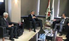 وزير المالية يبحث الأوضاع الاقتصادية مع وفد من البنك الدولي