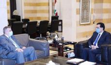 """دياب يبحث مع كومار جاه وكوبيتش المساعدات الممكن تقديمها من """"البنك الدولي"""" و""""الأمم المتحدة"""" لمواجهة """"كورونا"""""""