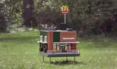 """بالصور:""""ماكدونالدز"""" تفتتح أصغر مطعم في العالم للنحل"""