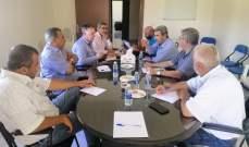 الهيئات الزراعية تناقش مسألة تصدير الإنتاج الزراعي اللبناني عبر سوريا