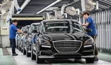 تراجع إنتاج وصادرات السيارات في كوريا الجنوبية