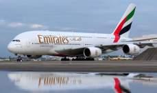 """""""هيئة الطيران الإماراتية"""" تعلن تعليق الرحلات القادمة من الهند"""