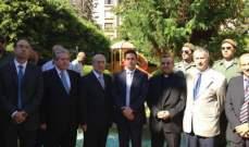 صحناوي افتتح خدمة الانترنت المجاني في حديقة اليسوعية بالاشرفية