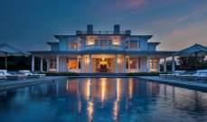 مستثمر عقارات يعرض منزلاً فخماً للبيع في هامبتونز بـ 58.5 مليون دولار