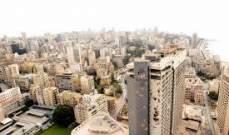 بيروت الـ 46 عالمياً في أسعار المنازل، والمركز 66 في عائدات الايجار