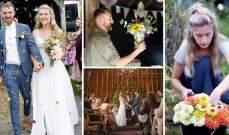 بالصور: هكذا وفّرا 1600 جنيه استرليني من مصاريف حفل الزفاف!