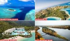 بالصور: أفضل 10 فنادق في الجزر الخاصة في العالم