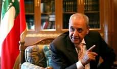 بري عن ترميم مجلس النواب: أنا مصرّ أن تقدم عروض التخمين والصيانة والترميم بالليرة