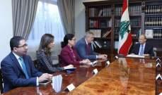الرئيس عون: من أولى مهام الحكومة الجديدة متابعة عملية مكافحة الفساد