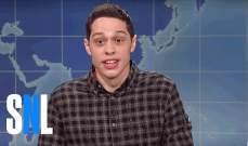 """مليون دولار كلفة تسريب نكات مقدم """"Saturday Night live"""" بيتديفيدسون"""