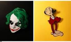 فنانة ايطالية تصنع شخصيات السينما باستخدام الورق
