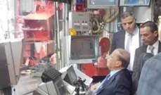 الرئيس عون يطلق بحضور دياب وغجر عمل الباخرة التي ستتولى حفر البئر النفطي في البلوك رقم 4
