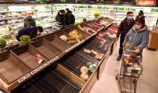 """أسعار الغذاء في الصين ترتفع مع تفشي """"فيروس كورونا"""""""