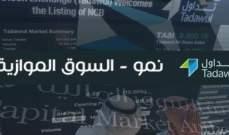 """السوق السعودية الموازية """"نمو"""" تتراجع بنسبة 1.2% إلى مستوى 2811 نقطة"""