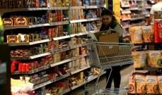الإحصاء المركزي: معدّل التضخم السنوي للعام 2019 بلغ 2.9 %