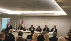 شقير في لقاء الأعمال اللبناني الروسي: لبنان لديه حميع المقومات ليكون شريكا استراتيجيا لموسكو في المنطقة