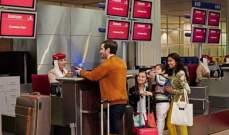 """""""طيران الإمارات"""" تنال شهادة اعتماد """"إياتا 753"""" لعمليات نقل الأمتعة"""
