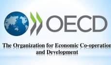 """""""منظمة التعاون الاقتصادي"""": نمو الناتج الإجمالي العالمي الأسوأ منذ الأزمة المالية"""