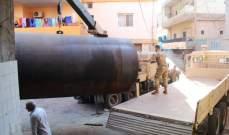 الجيش يحبط عملية تهريب 20900 ليتر من البنزين
